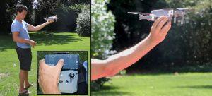 Hand launching & landing