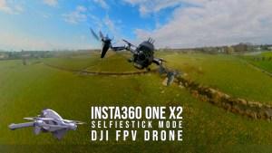 DJi FPV with Insta360 OneX2